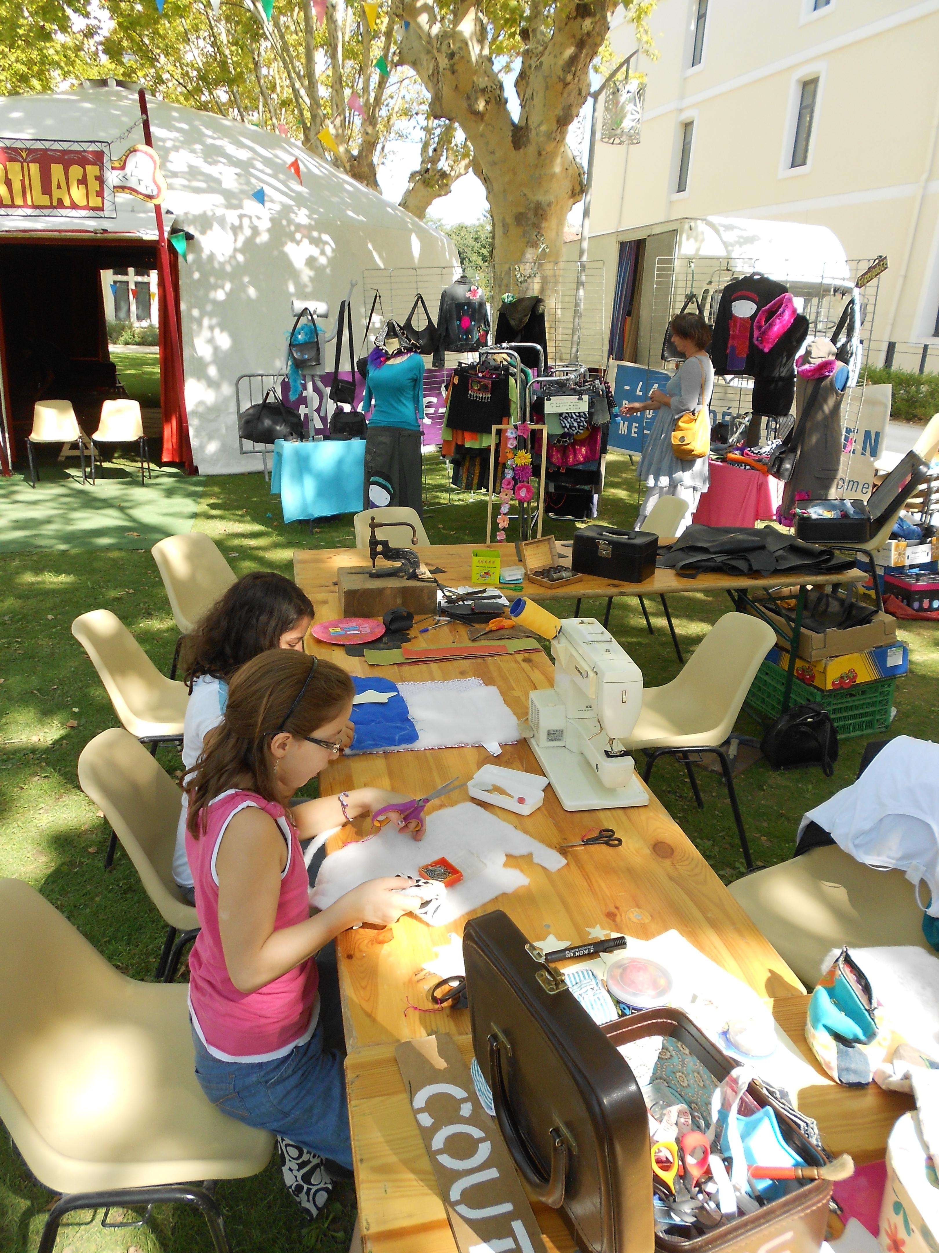 atelier couture récup friperigolote